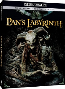 Le Labyrinthe de Pan (2006) de Guillermo del Toro - Packshot Blu-ray 4K Ultra HD