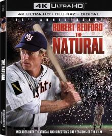 Le Meilleur (1984) de Barry Levinson - Packshot Blu-ray 4K Ultra HD