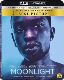Moonlight (2016) de Barry Jenkins - Packshot Blu-ray 4K Ultra HD