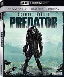 Predator (1987) de John McTiernan - Packshot Blu-ray 4K Ultra HD