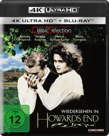 Retour à Howards End (1992) de James Ivory - Packshot Blu-ray 4K Ultra HD