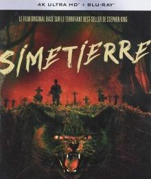 Simetierre (1989) de Mary Lambert - Packshot Blu-ray 4K Ultra HD