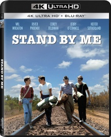 Stand by Me (1986) de Rob Reiner - Packshot Blu-ray 4K Ultra HD