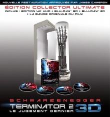 Terminator 2 (1991) de James Cameron - Édition Collector Ultimate limitée numérotée - Packshot Blu-ray 4K Ultra HD