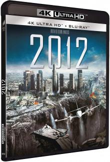 2012 (2009) de Roland Emmerich - Packshot Blu-ray 4K Ultra HD