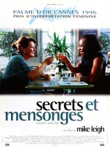Secrets et mensonges - Affiche