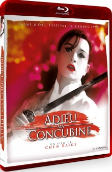 Adieu ma concubine - Jaquette Blu-ray