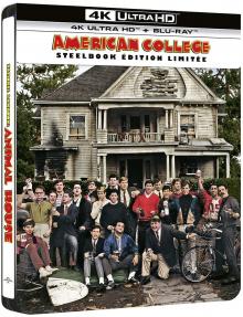 American College (1978) de John Landis - Édition Steelbook – Packshot Blu-ray 4K Ultra HD