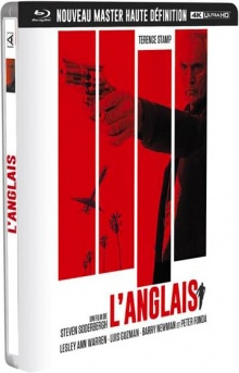 L'Anglais (1999) de Steven Soderbergh - Packshot Blu-ray 4K Ultra HD