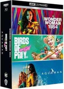 Aquaman + Birds of Prey + Wonder Woman 1984 – Packshot Blu-ray 4K Ultra HD