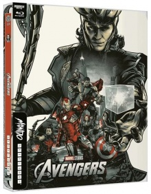 Avengers - Édition Steelbook Mondo – Packshot Blu-ray 4K Ultra HD