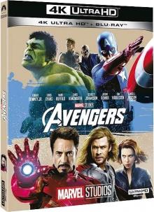 Avengers (2012) de Joss Whedon – Packshot Blu-ray 4K Ultra HD