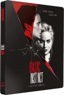 Basic Instinct (1992) de Paul Verhoeven - Édition Steelbook – Packshot Blu-ray 4K Ultra HD