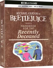 Beetlejuice (1988) de Tim Burton - Édition Collector – Packshot Blu-ray 4K Ultra HD