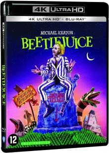 Beetlejuice (1988) de Tim Burton – Packshot Blu-ray 4K Ultra HD