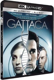 Bienvenue à Gattaca (1997) de Andrew Niccol – Packshot Blu-ray 4K Ultra HD
