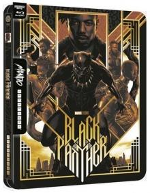 Black Panther - Édition Steelbook Mondo – Packshot Blu-ray 4K Ultra HD