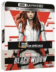 Black Widow (2021) de Cate Shortland - Édition Spéciale Fnac Steelbook - Packshot Blu-ray 4K Ultra HD