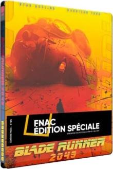 Blade Runner 2049 (2017) de Denis Villeneuve – Steelbook Mondo Exclusivité Fnac – Packshot Blu-ray 4K Ultra HD