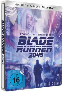 Blade Runner 2049 (2017) de Denis Villeneuve - Steelbook – Packshot Blu-ray 4K Ultra HD