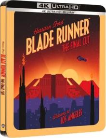 Blade Runner (1982) de Ridley Scott – The Final Cut – Boîtier Steelbook – Packshot Blu-ray 4K Ultra HD
