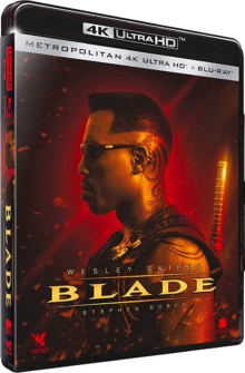 Blade (1998) de Stephen Norrington – Packshot Blu-ray 4K Ultra HD