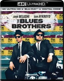 The Blues Brothers (1980) de John Landis – Packshot Blu-ray 4K Ultra HD