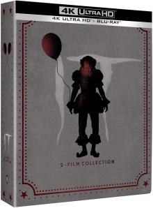 Ça : Chapitre 1 et 2 - Édition Limitée SteelBook - Packshot Blu-ray 4K Ultra HD