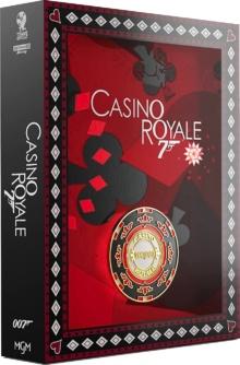 Casino Royale (2006) de Martin Campbell – Édition Titans of Cult – SteelBook – Packshot Blu-ray 4K Ultra HD
