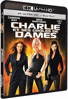Charlie et ses drôles de dames (2000) de McG - Packshot Blu-ray 4K Ultra HD