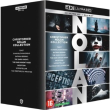 Christopher Nolan - Collection 8 Films – Packshot Blu-ray 4K Ultra HD