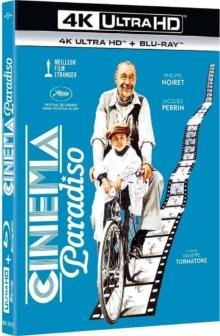 Cinema Paradiso (1988) de Giuseppe Tornatore – Packshot Blu-ray 4K Ultra HD