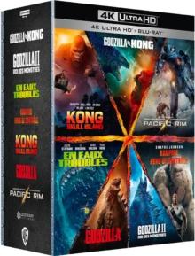Coffret grands monstres 7 Films – Packshot Blu-ray 4K Ultra HD