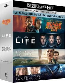 Coffret Le Meilleur de la science-fiction – Packshot Blu-ray 4K Ultra HD