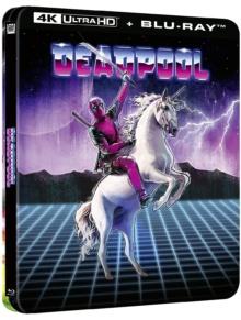 Deadpool (2016) de Tim Miller – Édition boîtier SteelBook - Packshot Blu-ray 4K Ultra HD