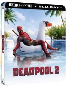 Deadpool 2 (2018) de David Leitch – Édition boîtier SteelBook - Packshot Blu-ray 4K Ultra HD