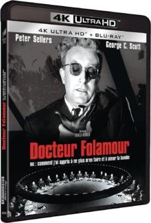 Docteur Folamour (1964) de Stanley Kubrick - Packshot Blu-ray 4K Ultra HD