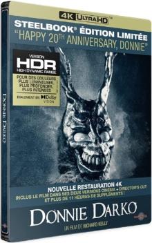 Donnie Darko (2001) de Richard Kelly - Édition Limitée Steelbook – Packshot Blu-ray 4K Ultra HD