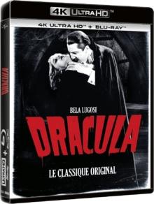 Dracula (1931) de Tod Browning – Packshot Blu-ray 4K Ultra HD