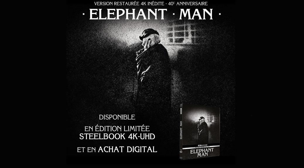 Elephant Man - Image une test Blu-ray