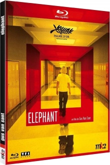 Elephant - Jaquette Blu-ray