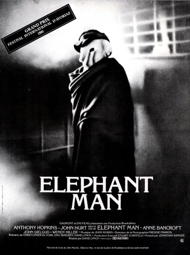 Elephant Man - Affiche France