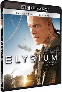 Elysium (2013) de Neill Blomkamp - Packshot Blu-ray 4K Ultra HD