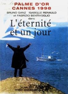 L'Eternité et un jour - Jaquette DVD Arte