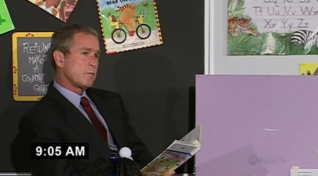 Fahrenheit 9/11 - George Bush