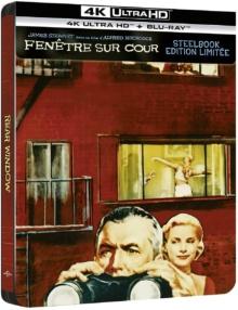 Fenêtre sur cour (1954) de Alfred Hitchcock – Édition boîtier SteelBook – Packshot Blu-ray 4K Ultra HD