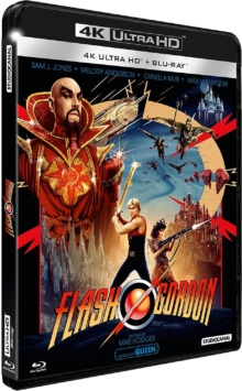 Flash Gordon (1980) de Mike Hodges – Packshot Blu-ray 4K Ultra HD