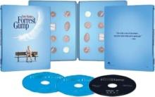 Forrest Gump (1994) de Robert Zemeckis – Édition Limitée Exclusivité Fnac Steelbook - Packshot Blu-ray 4K Ultra HD