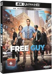 Free Guy (2021) de Shawn Levy - Packshot Blu-ray 4K Ultra HD