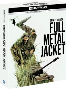 Full Metal Jacket (1987) de Stanley Kubrick – Édition collector – 4K Ultra HD + Blu-ray + DVD + Livret – Packshot Blu-ray 4K Ultra HD